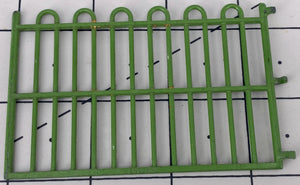 Britains zoo straight railings, set of four