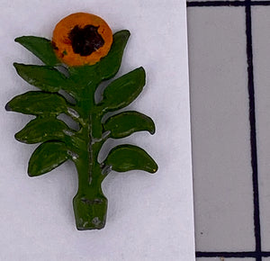 Britains Miniature Gardening sunflower, small