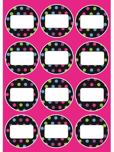 MAGNET SHEET COLOR DOTS