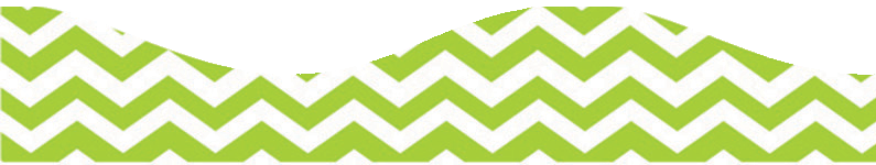 CHEVRON LIME GR SCALLOP BORDER