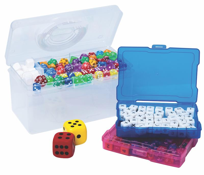 Elizabeth Richards Classroom Dice Set