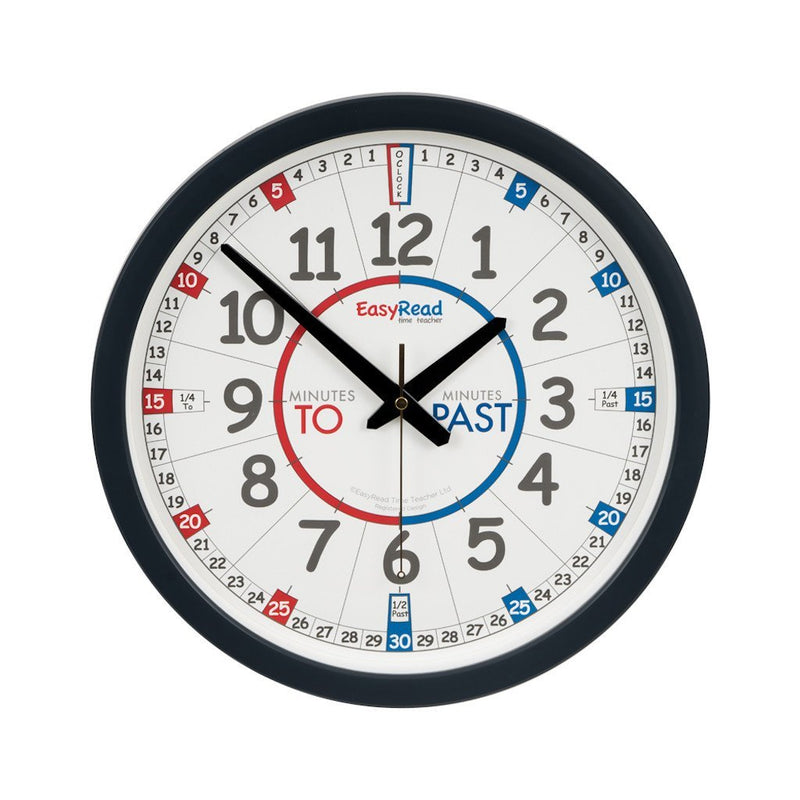 Time Teacher Classroom Wall Clock
