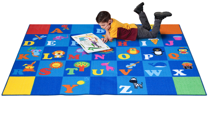 I Love my ABC'S Rug