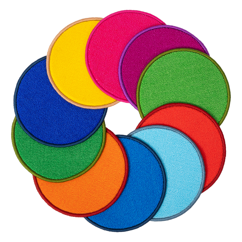 Rainbow Carpet Discs