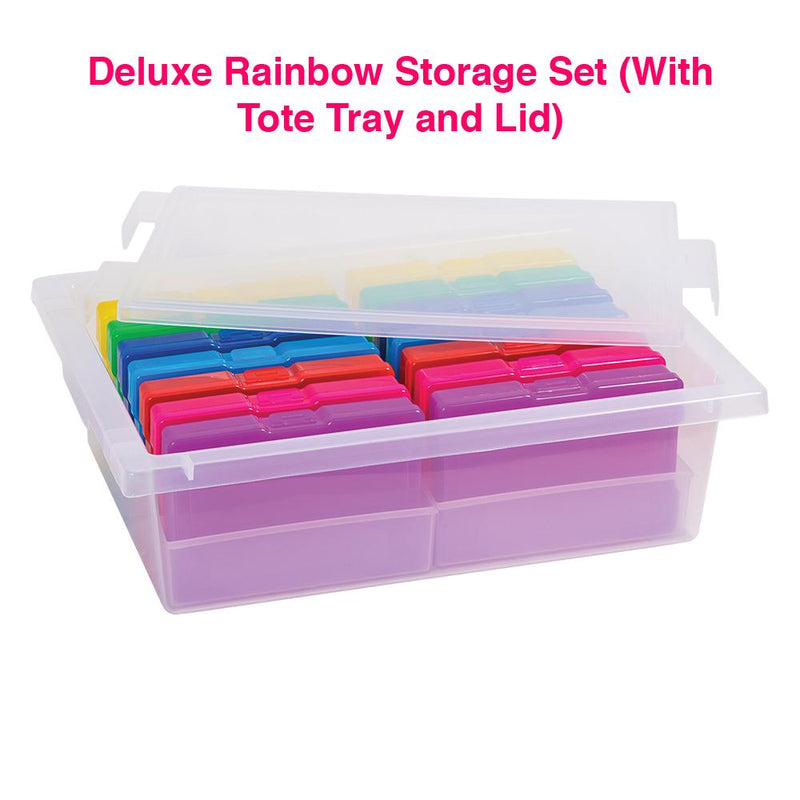 Deluxe Rainbow Storage Set