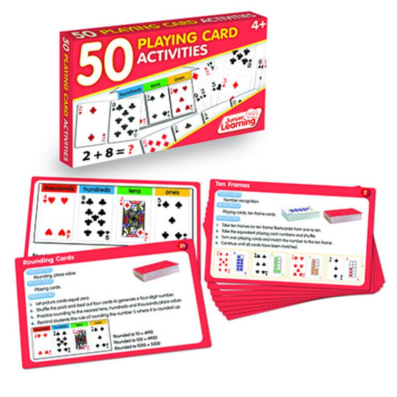 50 Playing Cards Activities