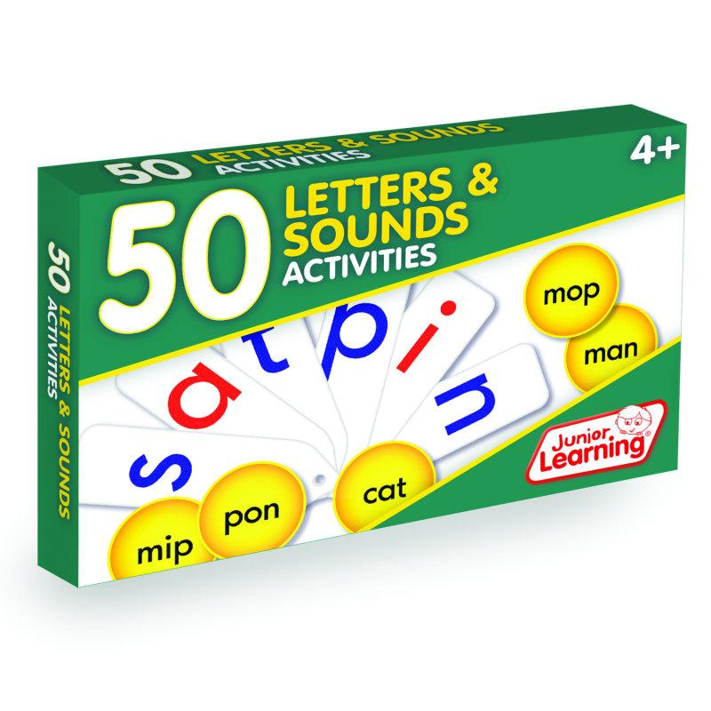 50 Letter and Sound Activities