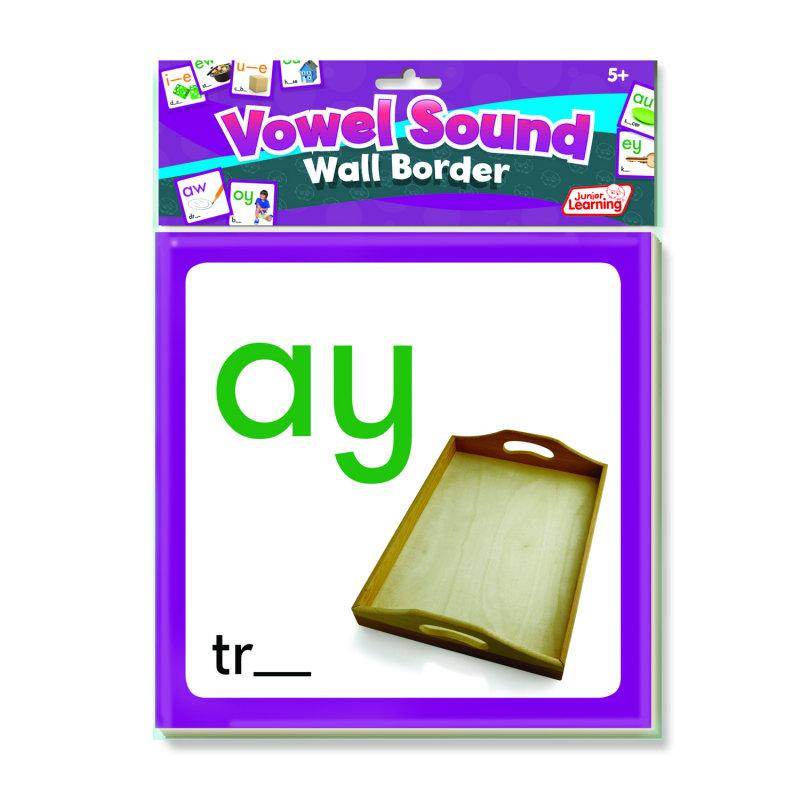 Vowel Sounds Wall Border