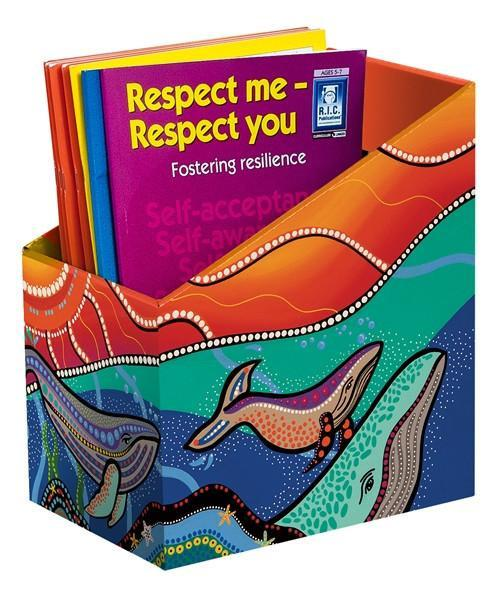 MARINE LIFE BOOK BOX - PACK OF 5