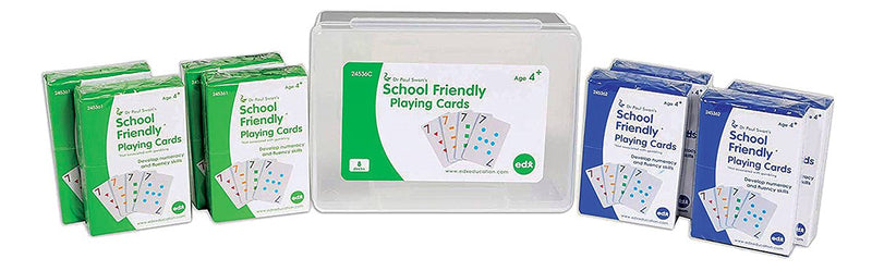 School Friendly Playing Cards 8 Pack (Paul Swan)