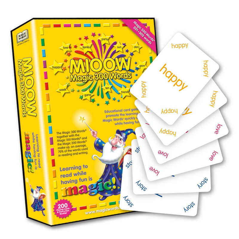 Magic 300 Words Playing Cards