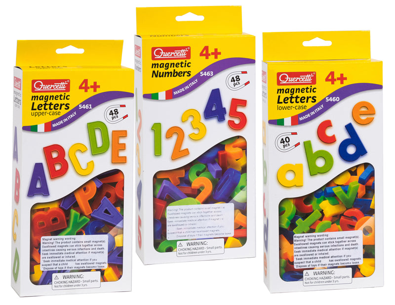 Quercetti - Magnetic Letters and Numbers