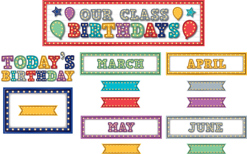 Our Class Birthday Bulletin Board