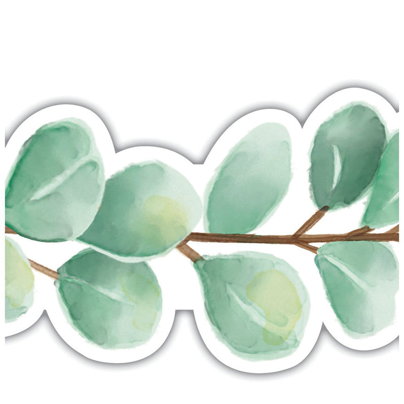 Eucalyptus Die-Cut Border Trim