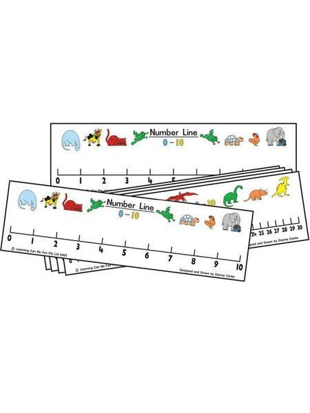 STUDENT NUMBER LINE
