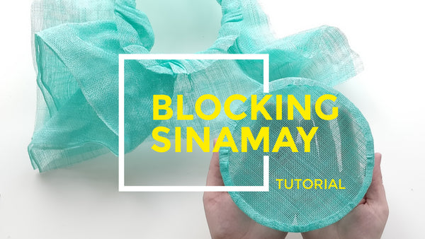 e2d8b40ff When pre-made hat bases just won't do, it's time to get blocking! Hand  blocking your own sinamay bases is easy to do, opens up a whole new world  of ...
