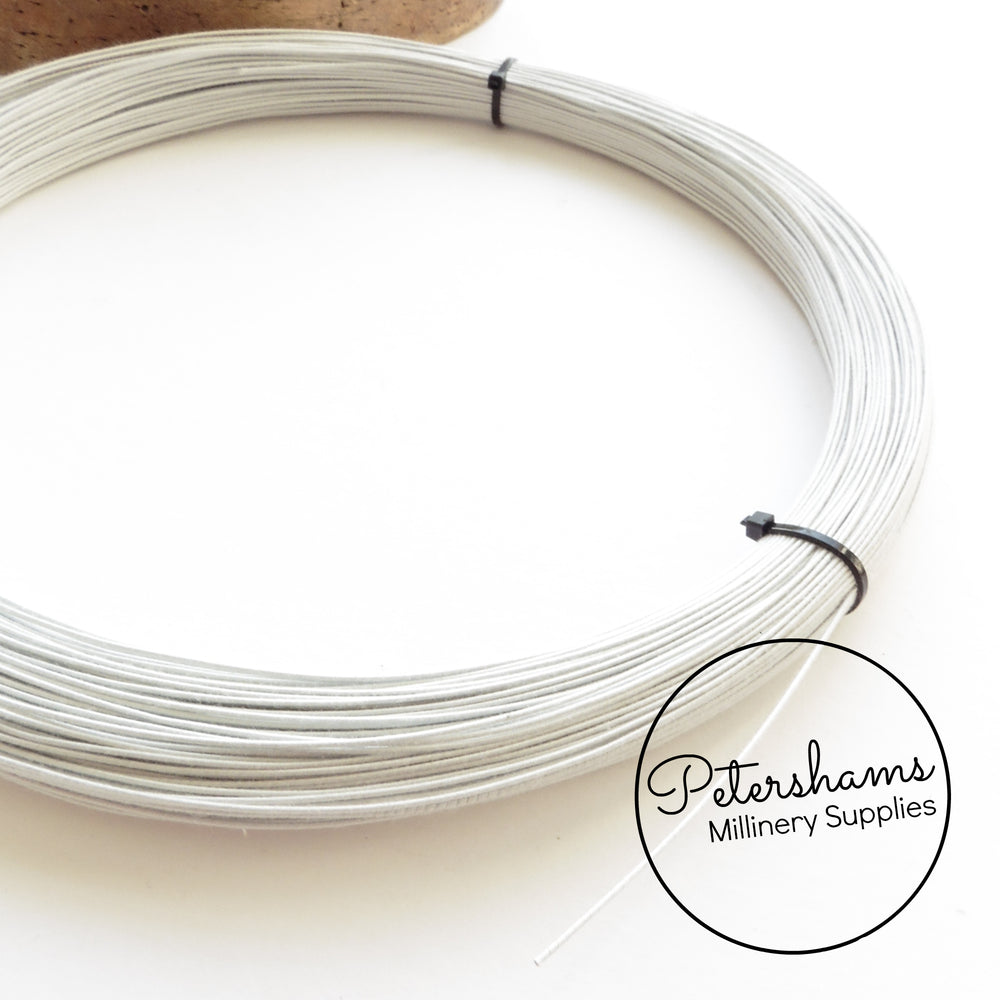 0.4mm Extra Fine Cotton Covered Millinery Wire