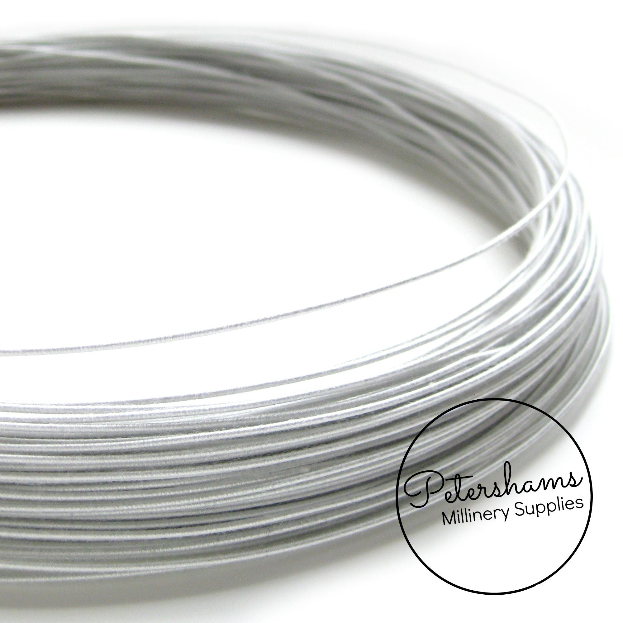 1mm Cotton Covered Millinery Wire – Petershams Millinery Supplies