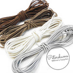 Round 1.5mm Hat Elastic for Fascinators & Millinery - 1m