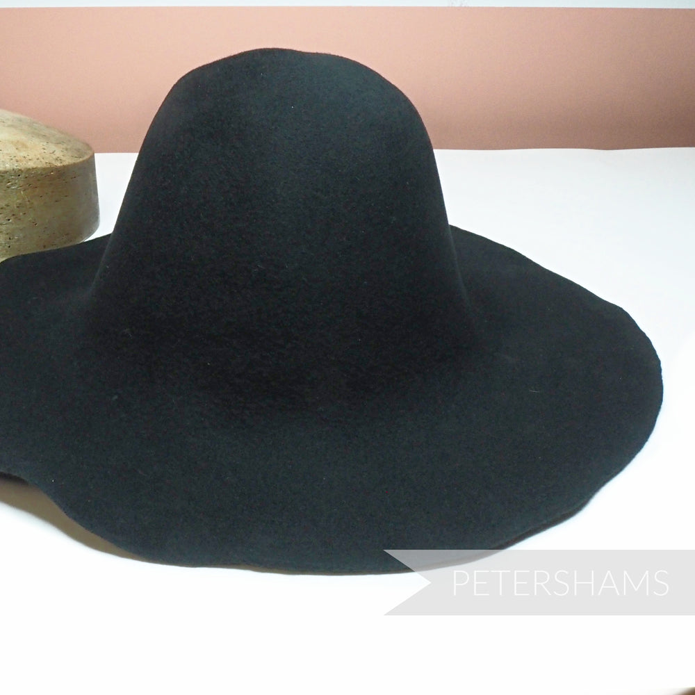 Wool Felt Capeline Hat Body - 130g