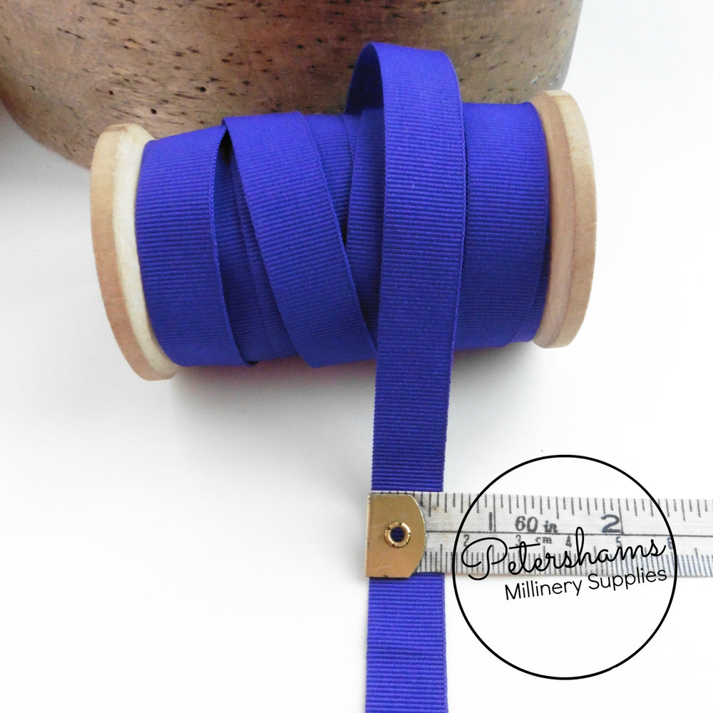 15mm Wide Grosgrain Ribbon - 1m