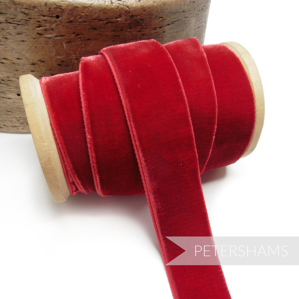 23mm Elastic Stretch Velvet Ribbon - 1m