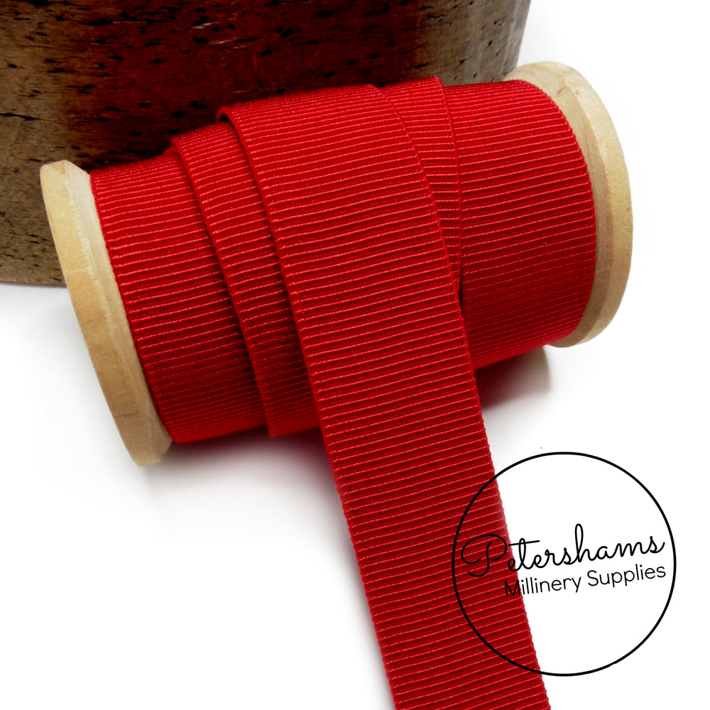 24mm Elastic Grosgrain - 1m