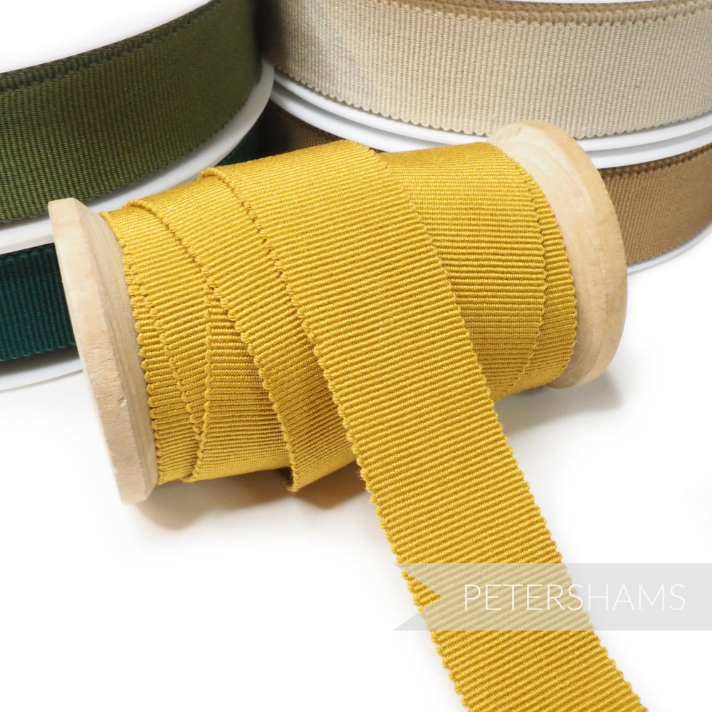 Cotton 25mm No.5 Millinery Petersham Hat Ribbon
