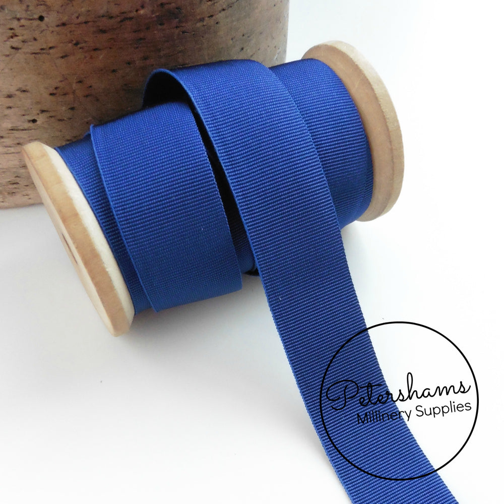 25mm Wide Grosgrain Ribbon - 1m