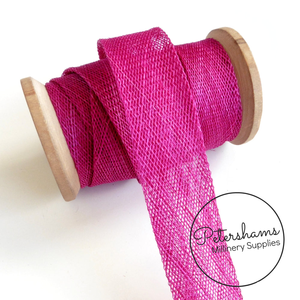2cm wide Sinamay Bias Binding Strip - 1.6m