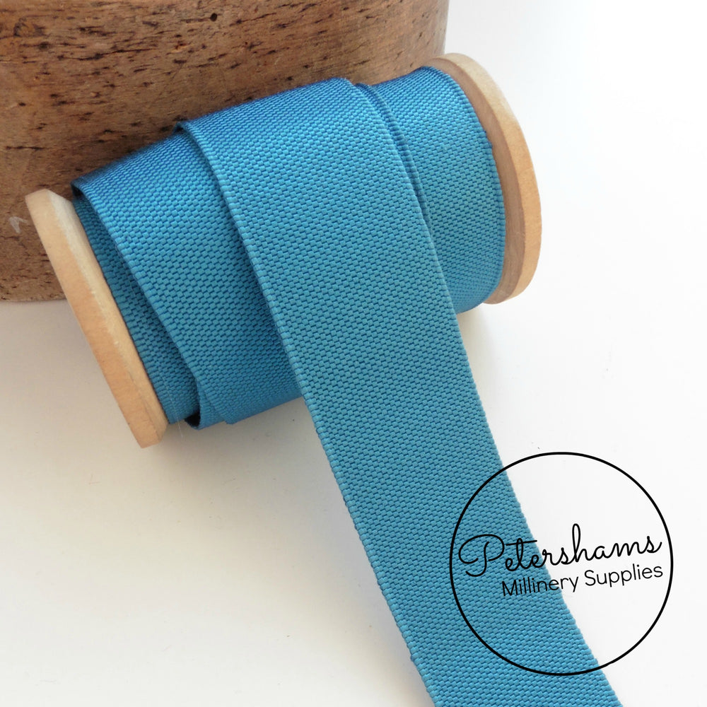 32mm Vintage Woven Belting Ribbon -1m