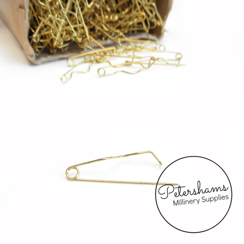 Gold Vintage 1950's Brooch Pin Backing - Pack of 10