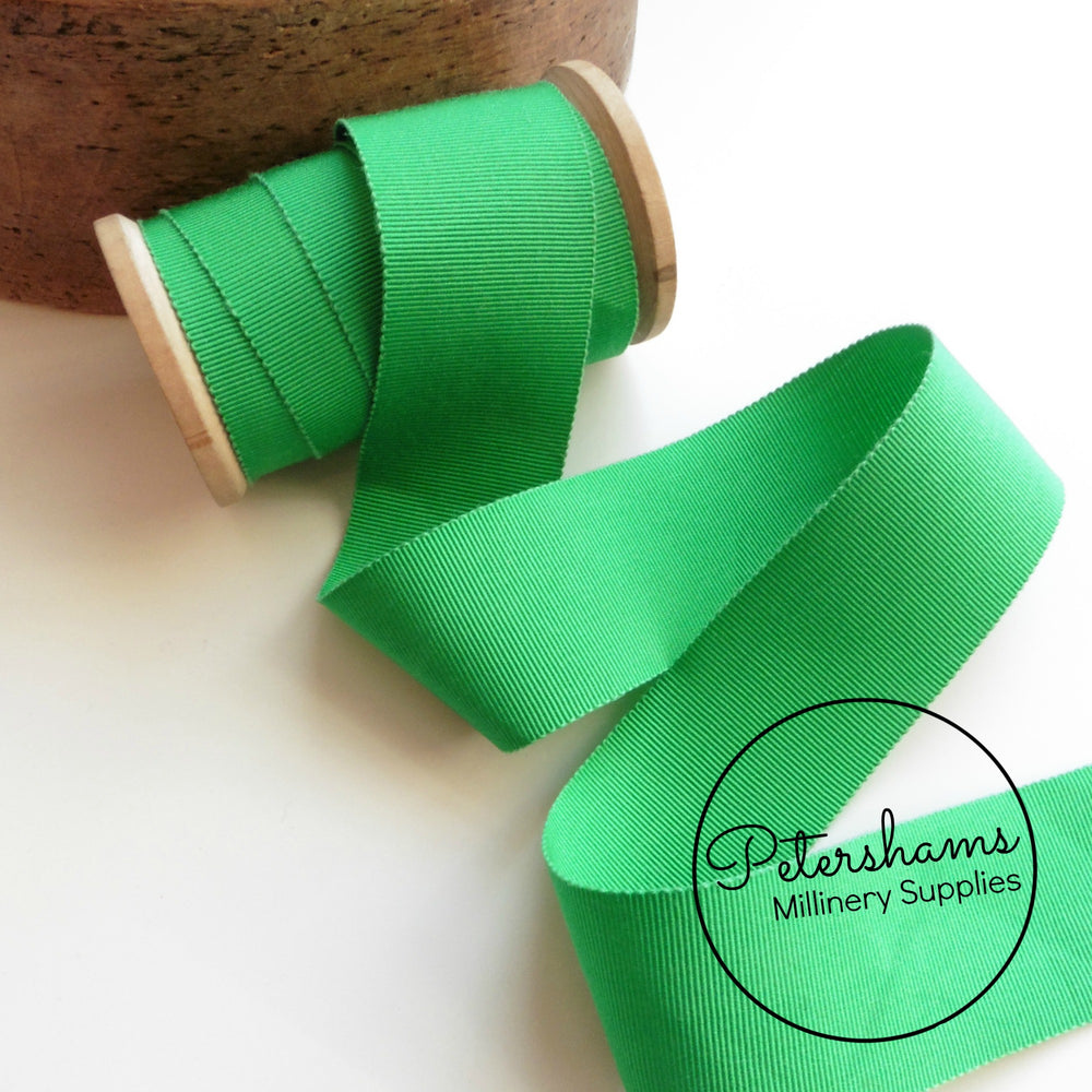 38mm No.9 Millinery Petersham Hat Ribbon