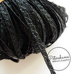 4mm Fine Weave Shiny Accent Polypropylene Millinery Braid