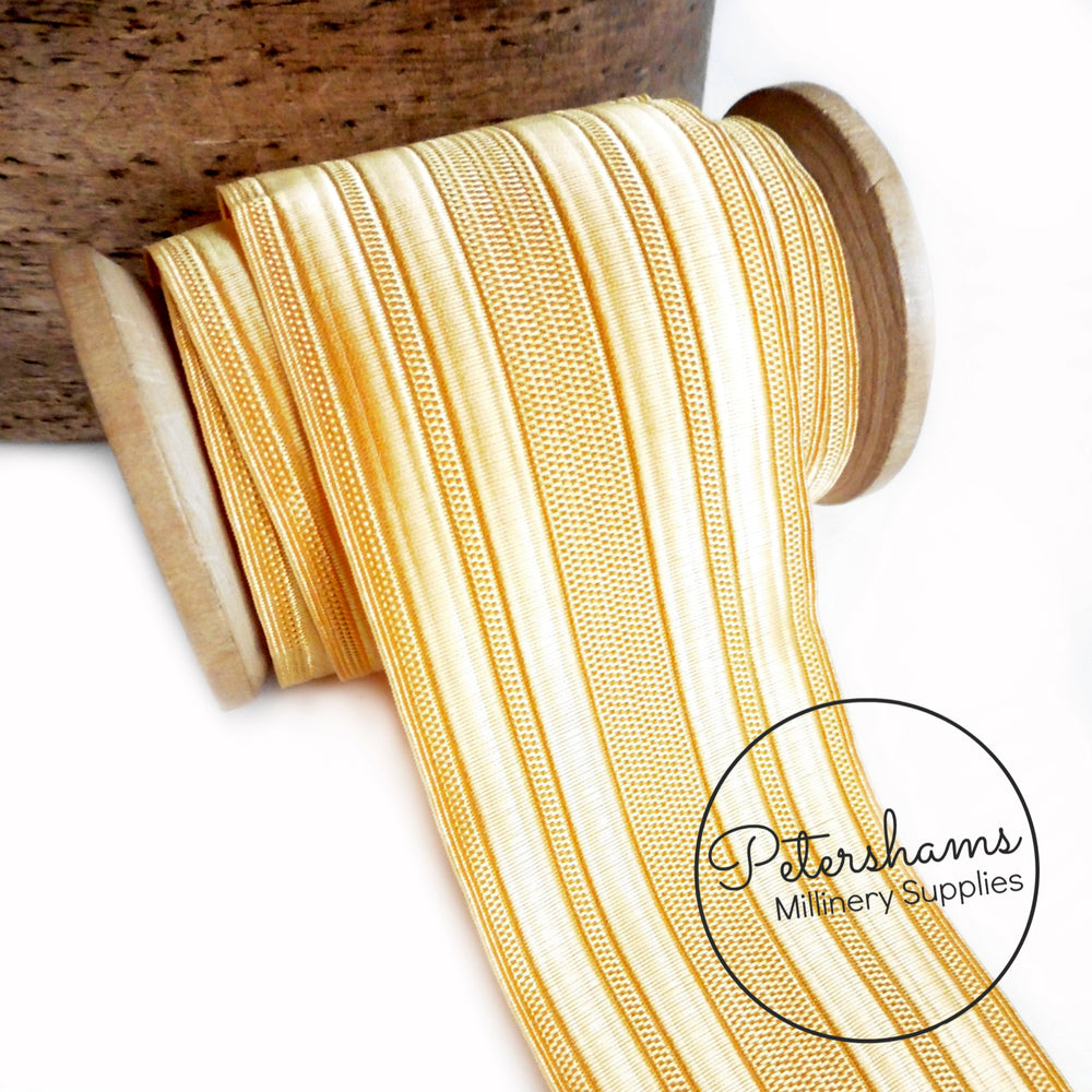Naval Cellophane Thread Gold Lace Ribbon - 52mm