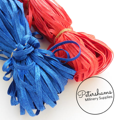 5mm Fine Weave Polypropylene Millinery Braid