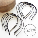 5mm Satin Covered Metal Headbands