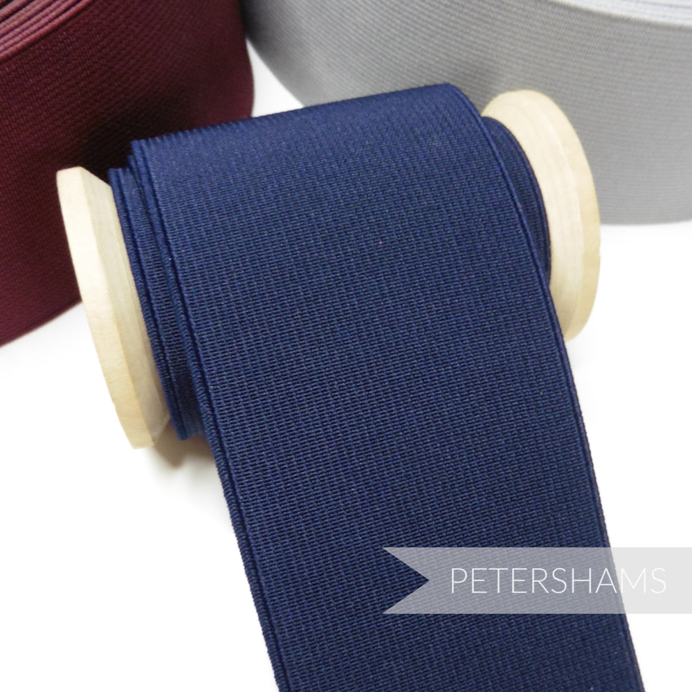60mm Wide Flat Belt Elastic - 1m