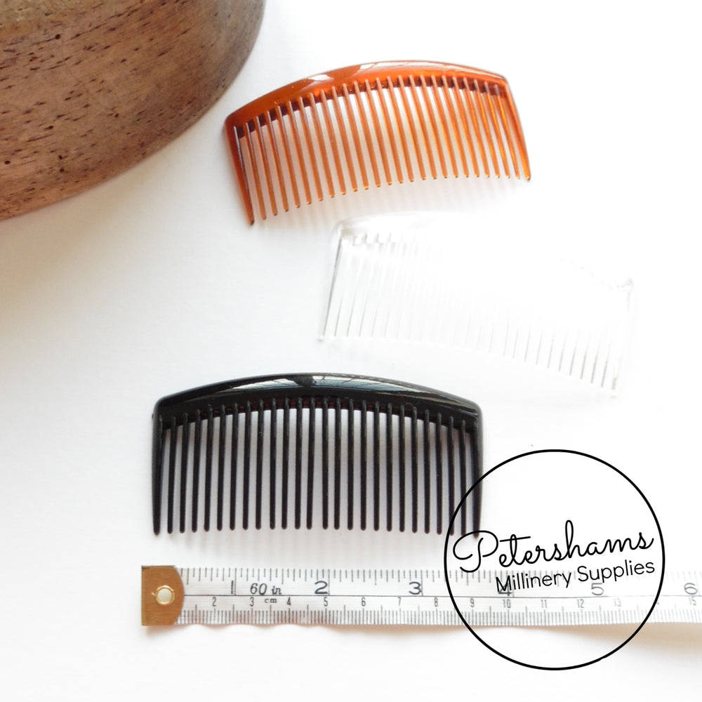 Large 9.5cm Plastic Hair Combs