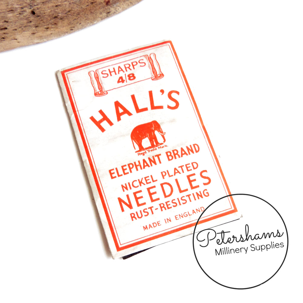 Halls 'Elephant Brand' Sewing Needle Pack - 1940's