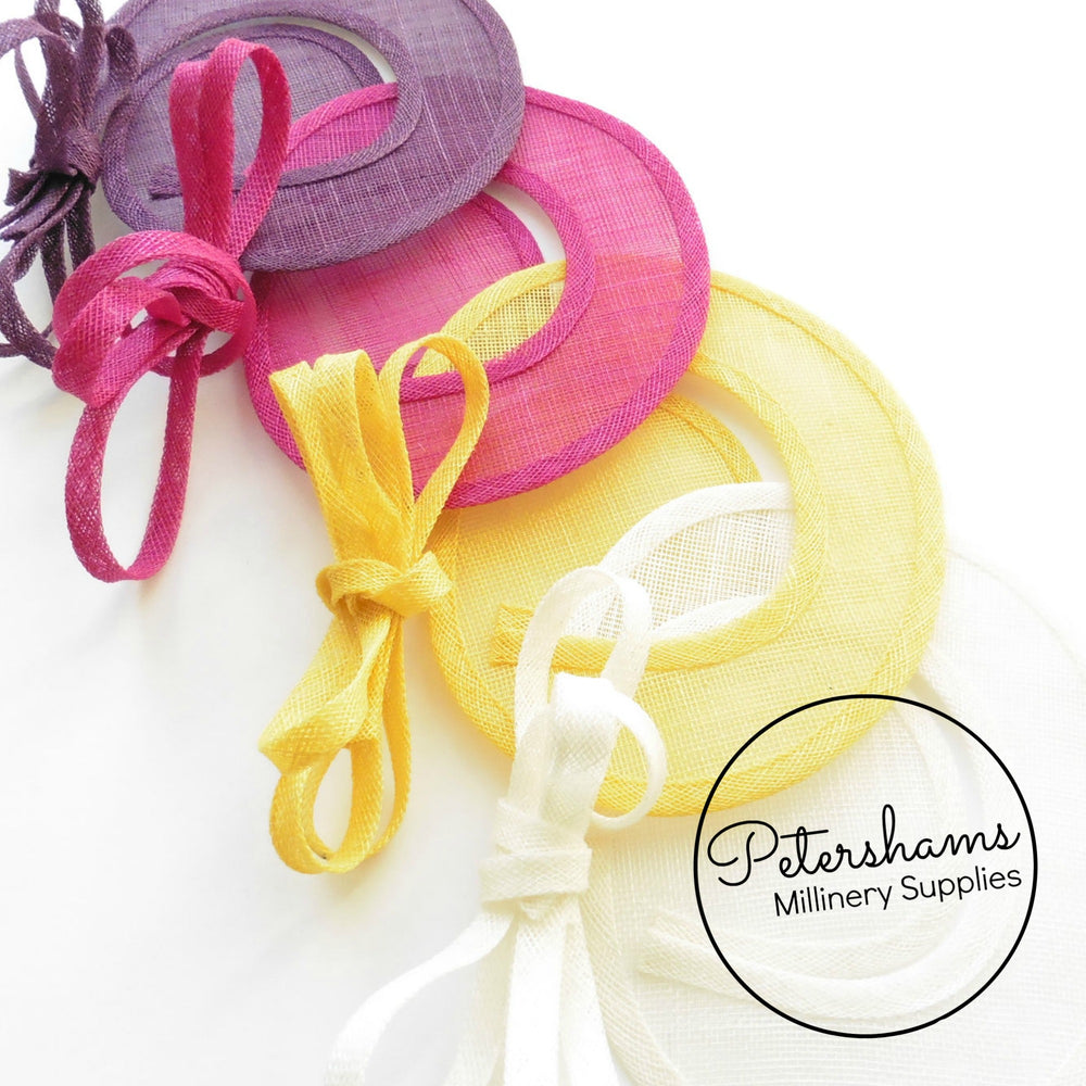 Sinamay Swirl - Make an Instant Fascinator!