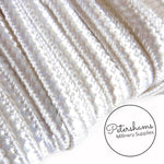Vintage 5mm French Iridescent Lurex Silky Braid - 1m