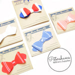 Vintage 1950's Acetate Plastic Bow on Card