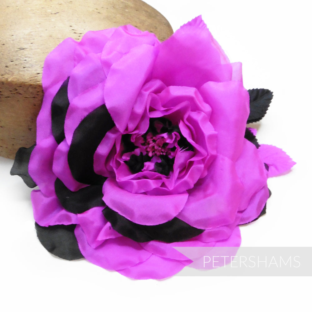 'Alison' Extra Large Silk 20cm Millinery Flower