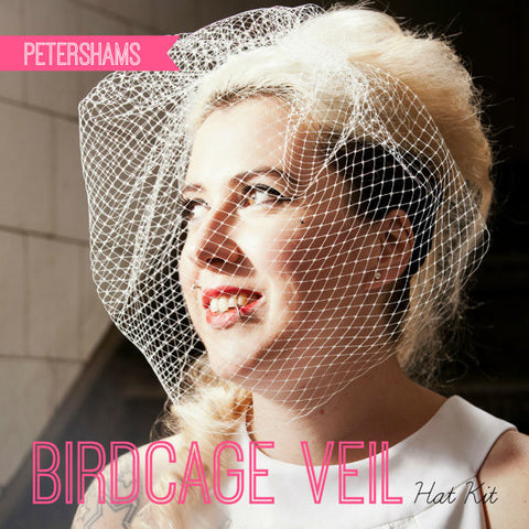 DIY Hat Kit - Make your own Bridal Birdcage Wedding Veil