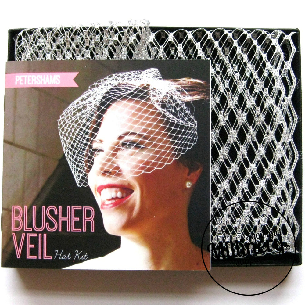 DIY Hat Kit Make your own Bridal Blusher Veil
