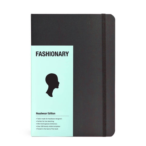 Fashionary Headwear Edition A5 - Sketchbook for Milliners