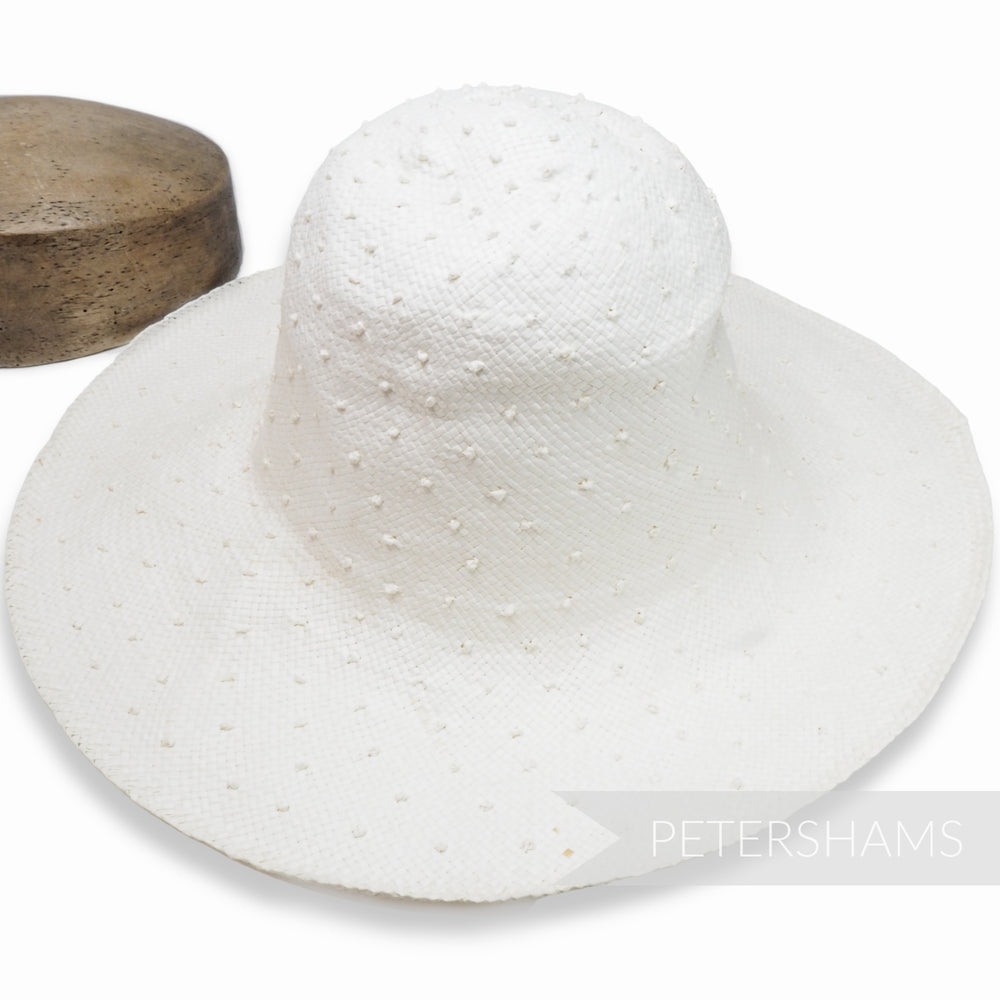 Knotted Toyo Paper Capeline Hat Body - 11""