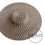 Cartwheel Polybraid Fascinator Hat Base