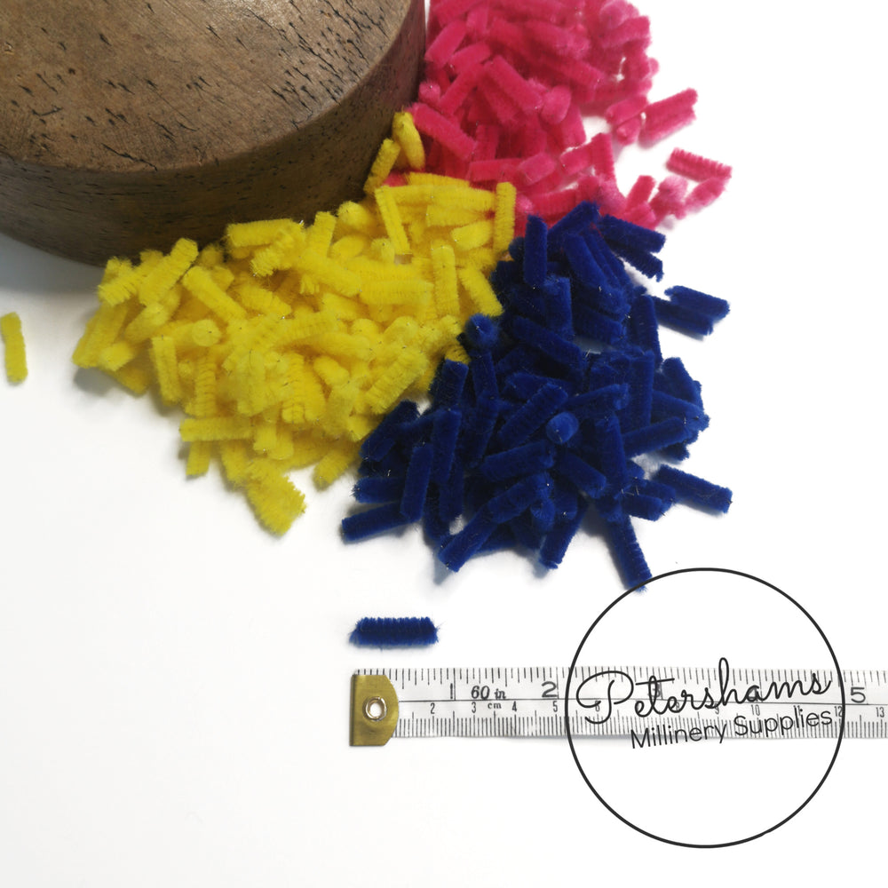 Chenille Wire Pieces (for making your own veiling dots!) - Approx. 120 Pieces